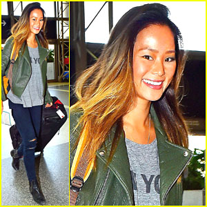 Jamie Chung Had a Great Friendsgiving with Fiance Bryan Greenberg!