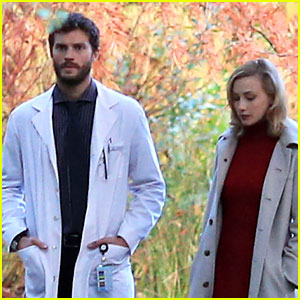 Sarah Gadon Gets to Work on 'Louis Drax' with Jamie Dornan!
