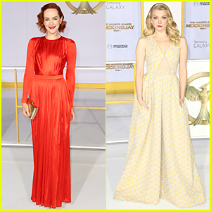 Jena Malone & Natalie Dormer Are Stunners at 'Hunger Games: Mockingjay' Los Angeles Premiere!