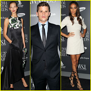 Karlie Kloss & Charlie Carver Get All Dressed Up at the Innovator Awards