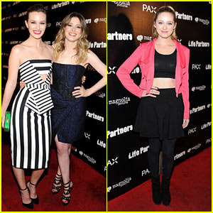 Leighton Meester Goes Black & White with a Pop of Green at 'Life Partners' Premiere!