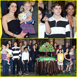 Mae Whitman & Miles Heizer Celebrate 100 Episodes of 'Parenthood'