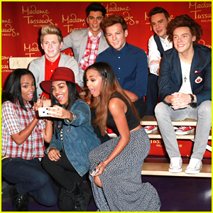 McClain Meet One Direction In Hollywood -- Their Wax Figures, Actually...