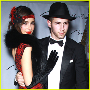 Nick Jonas & Olivia Culpo Couple It Up For Halloween In Vegas - See Their Costumes!
