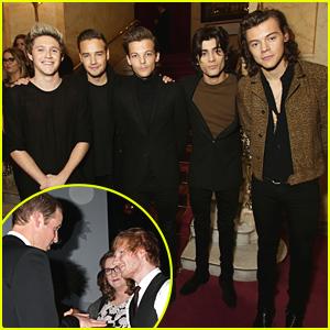 One Direction & Ed Sheeran Meet Prince William At Royal Variety Performance - See The Pics!