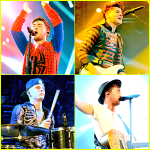 Rixton's Jake Roche Turns Into Spider-Man For Vevo Halloween 2014