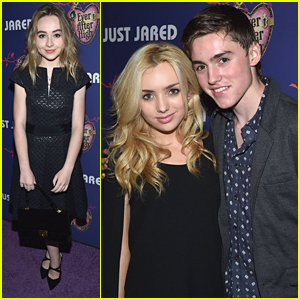Sabrina Carpenter & Peyton List Get Glamorous For JJ's Homecoming Dance