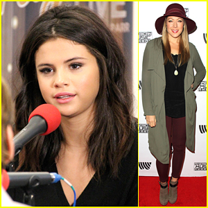 Selena Gomez & Colbie Caillat Hit Up Red Carpet Radio & Tease What's In Store at the AMAs!