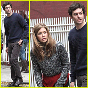 Adam Brody & Lisa Joyce Look Rather Concerned in 'Billy & Billie' Scenes