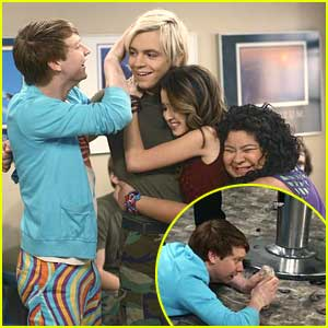 Dez Does Not Want Austin To Cut His Hair In New 'Austin & Ally' Stills