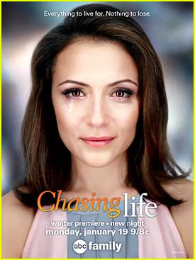 April Is Back at Work On 'Chasing Life's Winter Premiere - See The Pics!