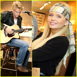 Cody Simpson Gives A Brick; Performs At Cotton On To Help Build A School in Uganda