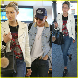 Gigi Hadid & Cody Simpson Head Off to Dubai to Celebrate the New Year Together