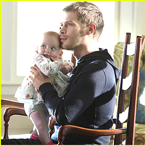 This Pic From 'The Originals' Of Klaus & Baby Hope Will Melt Your Hearts