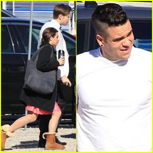 Lea Michele & 'Glee' Cast Film Wedding Scene - Who's Getting Married?!