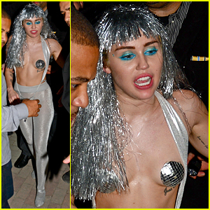 Miley Cyrus Goes for Shock Value with Her Art Basel Outfit