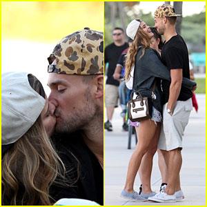 Nina Agdal & Boyfriend Reid Heidenry Heat Up Miami with Major PDA!