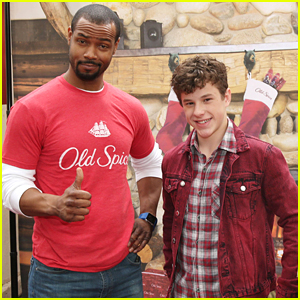 Nolan Gould Trades Toys For Body Spray At Old Spice's Toy Donation Drive
