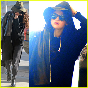 Selena Gomez Heads Out of Town After Hanging Out with Her 'NY Fam'
