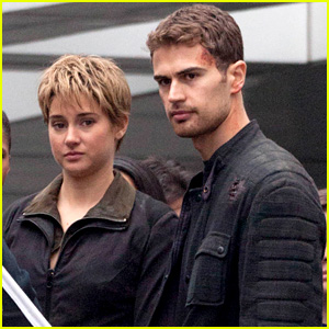 Shailene Woodley & Theo James Get Dirty for 'Insurgent' Filming