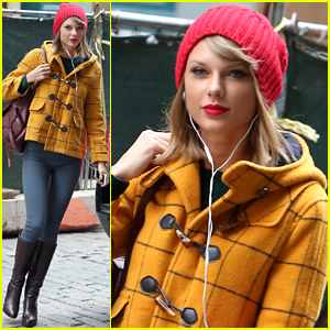 Taylor Swift Lunches In New York City After Giving the Media a Message About Her Love Life