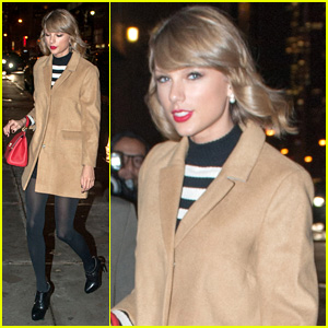 Taylor Swift Supports Pal Emma Stone By Seeing Broadway's 'Cabaret'
