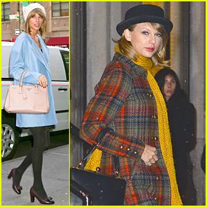 Taylor Swift Makes Time to Put Up Christmas Lights For Gigi Hadid!