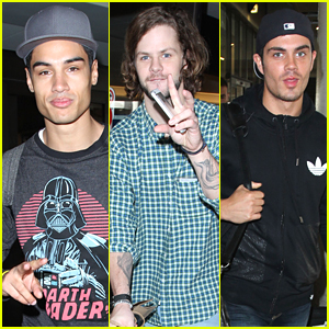 The Wanted Head Back To LA After Mexico Concert