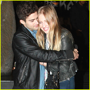 Max Ehrich Gives The Cutest Hug To Girlfriend Veronica Dunne - See It Here!