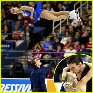Pairs Champion Skaters Alexa Scimeca & Chris Knierim Defy Gravity & Break Records For National Title - See The Pics!