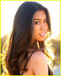 Ashley argota chats up the fosters on hallmark s home amp family