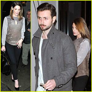Ashley Greene & Paul Khoury Enjoy Date Night at Craig's