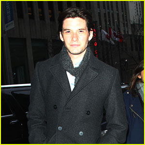 Ben Barnes Bundles Up for 'Seventh Son' Promo Tour in NYC
