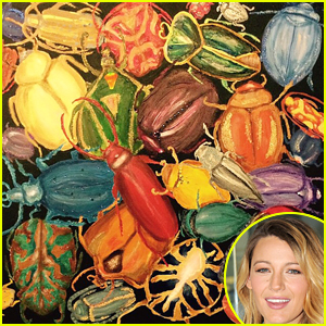 Blake Lively Shows Off Beautiful Painting Skills!
