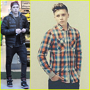 Brooklyn Beckham Gets 'Reserved' For Spring/Summer 2015 Campaign