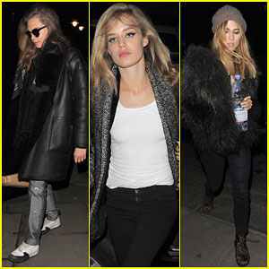 Cara Delevingne & Suki Waterhouse Make it a Girls' Night Out