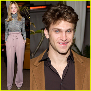 Elle Fanning & Keegan Allen Help Rodarte Celebrate New Collection!