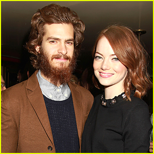 Emma Stone & Andrew Garfield Look Perfect Together at 'Birdman' Dinner