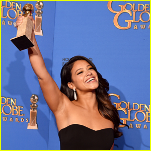 Gina Rodriguez Makes Us Love Her More with Press Room Interview at Golden Globes 2015 (Video)