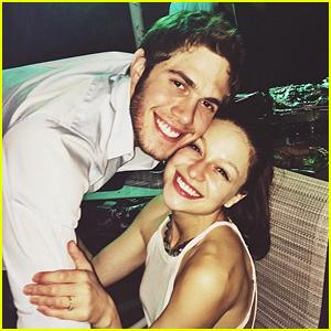 Melissa Benoist & Blake Jenner Were Full of 'Glee' on New Year's Eve!