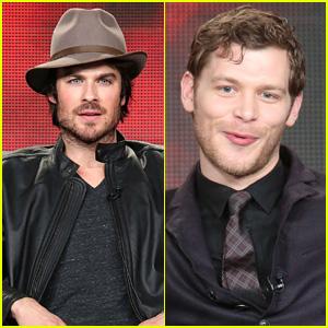 Ian Somerhalder Teases Upcoming Damon & Elena Happiness on 'Vampire Diaries'!