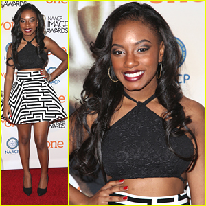 Imani Hakim Steps Out For NAACP Image Awards Luncheon