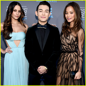 Jamie Chung Meets Up with Her 'Big Hero 6' Co-Stars at the Critics' Choice Awards 2015