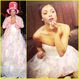 Kat Graham Hosts A Colorful Countdown with Cosmopolitan for New Year's Eve