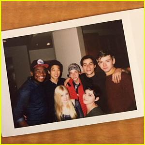 Katherine McNamara Shares 'Maze Runner' Fun with Dylan O'Brien & Castmates!