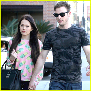 Kelli Berglund & Boyfriend Sterling Beaumon Make One Stylish Couple