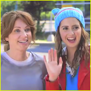 Laura Marano & Leigh-Allyn Baker Show Off Fab Hair During 'Bad Hair Day' Promos - Watch here!