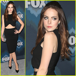 Elizabeth Gillies Brings 'Sex&Drugs&Rock&Roll' To Fox's TCA Party