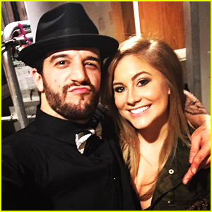 Mark Ballas Reunites With Shawn Johnson on DWTS Live Tour - See The Pic!