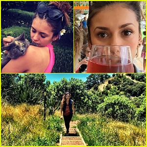 Nina Dobrev's New Zealand Vacation Looks Amazing!
